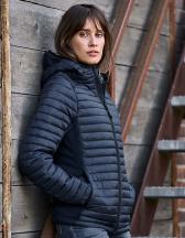 Ladies` Hooded Outdoor Crossover Jacket