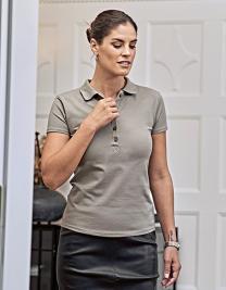 Womens Luxury Stretch Polo